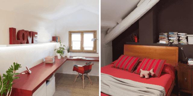 Due modi di sfruttare il sottotetto come abitazione: la casa tutta su un livello e su due