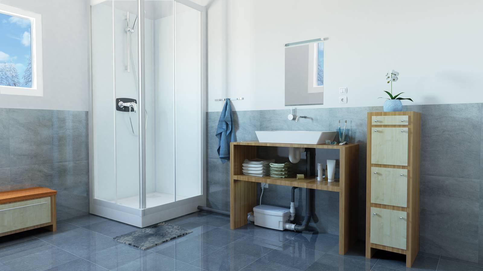 Bagno In Camera Senza Scarico : Spostare il bagno e spostare la cucina dove vuoi quando si può