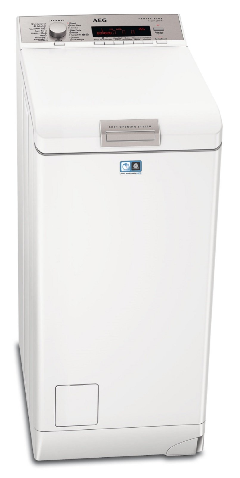 1aeg l88560tl lavatrici 45 cm cose di casa - Profondita lavatrice ...