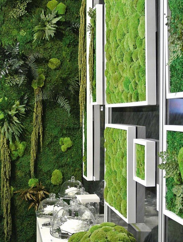Il verde stabilizzato cose di casa - Pareti verdi per interni ...