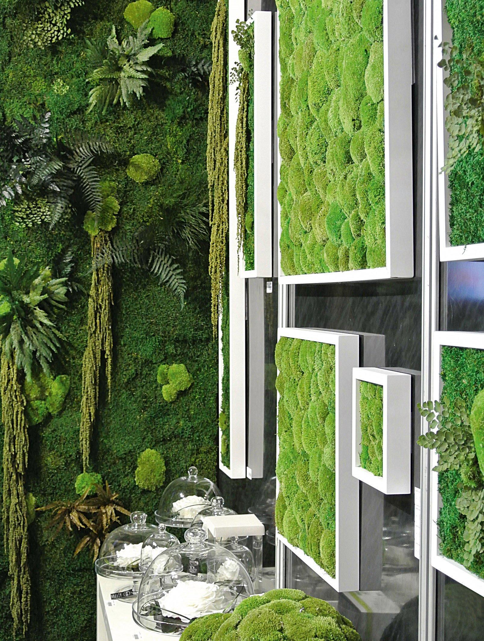 Il verde stabilizzato cose di casa for Pareti originali per interni