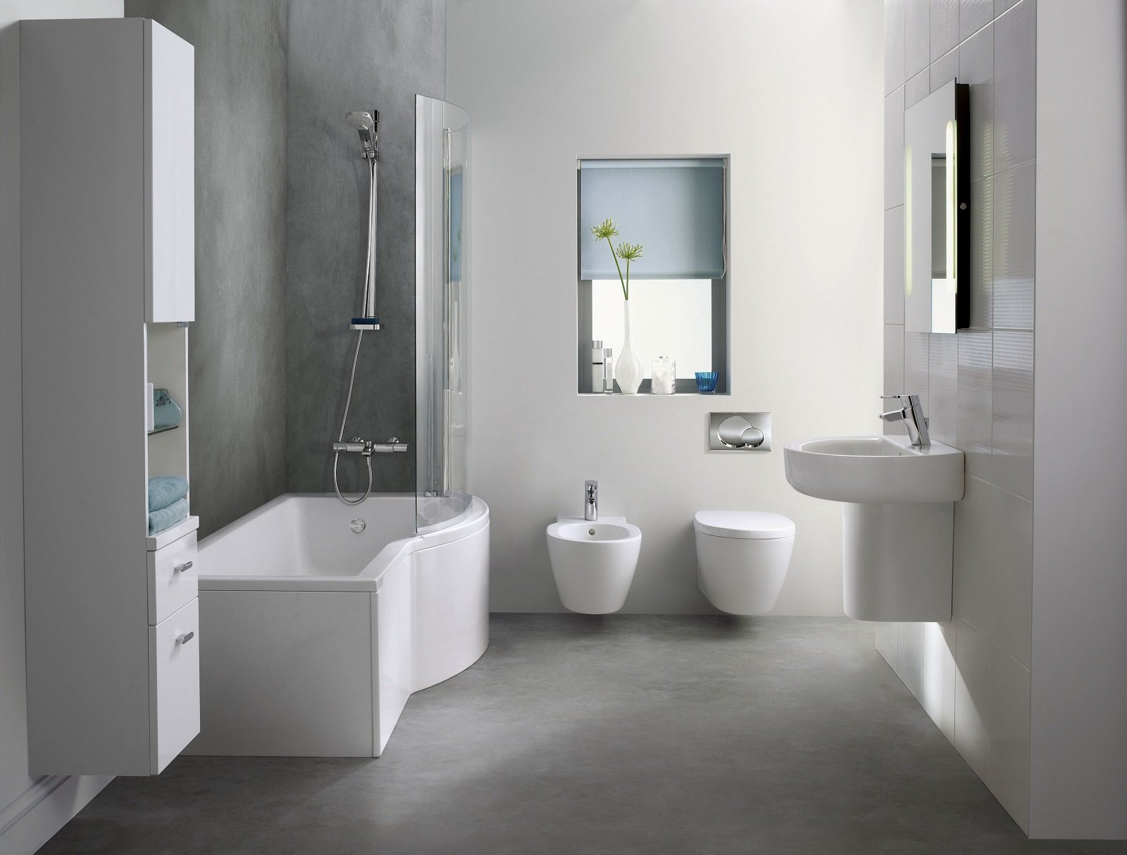 Le vasche a parete in materiali resistenti e di facile manutenzione - Pannelli vasca da bagno ...