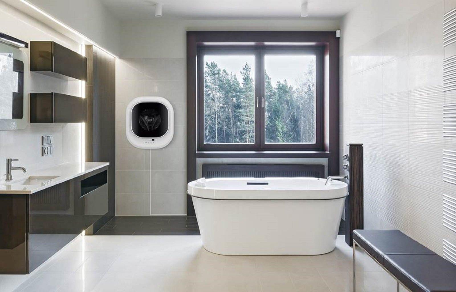Appendere Asciugatrice Al Muro lavatrice sospesa a parete: una soluzione salvaspazio - cose