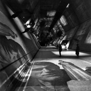 Sezione introduttiva sul tema dell'ecologia del tempo libero per la XIII Triennale, Milano, 1964 Sala del Caleidoscopio