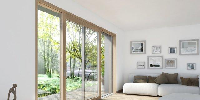 Ristrutturare casa costi lavori idee Finestra grande scorrevole