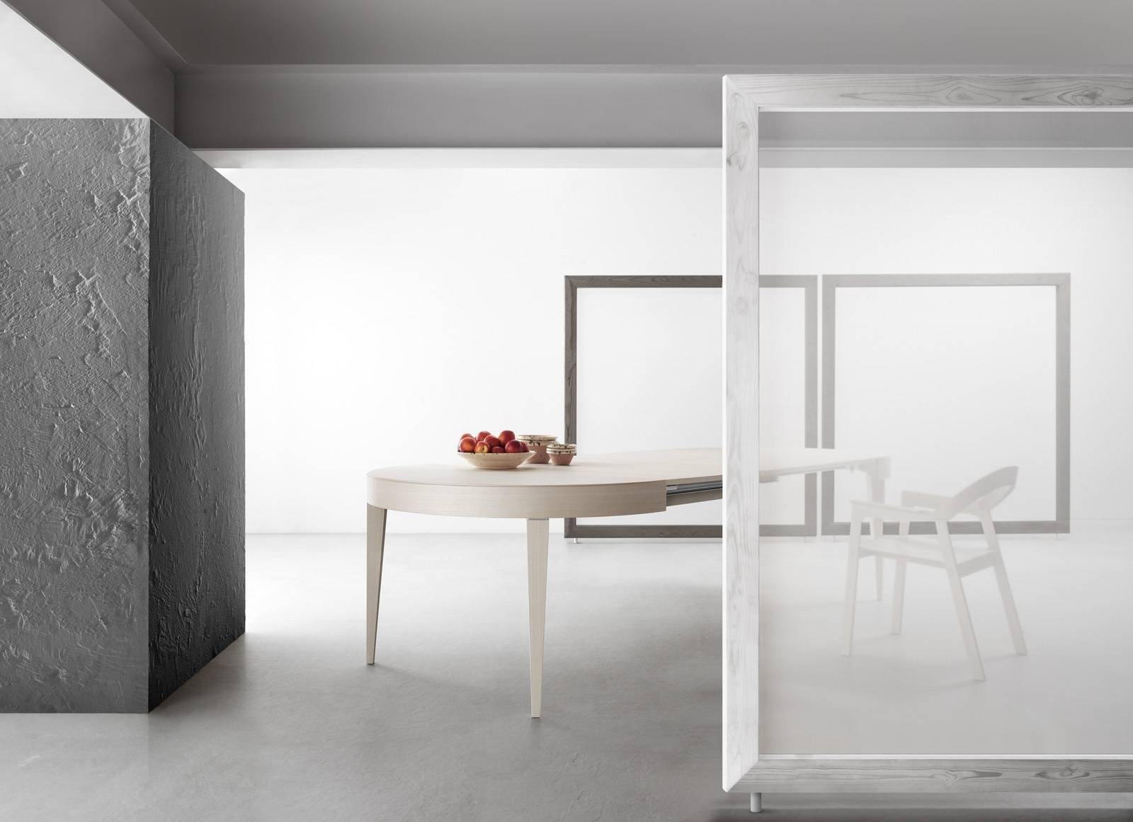 Tavolo Rotondo Allungabile Contemporaneo Classico In Stile Cose Di Casa