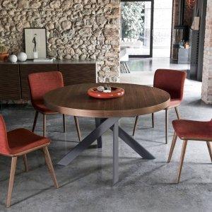 Tavolo rotondo allungabile: contemporaneo, classico, in ...