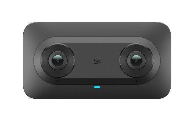 YI Horizon VR180 YI Horizon in collaborazione con il team di Google Virtual Reality (VR) ha presentato VR180, la fotocamera stereoscopica in 3D che offre agli utenti un modo semplice per catturare video immersivi e ad alta risoluzione che consentono a chiunque li visualizzi di essere idealmente trasportati in luoghi nuovi e incredibili. YI Horizon VR180 si integra perfettamente con YouTube e Google Foto in modo che gli utenti possano facilmente attivare l'esperienza VR quando utilizzano Google Cardboard, Daydream, PSVR e altri visori VR certificati. Gli utenti possono anche visualizzare il contenuto semplicemente in 2D. Con un design intuitivo ed elegante, la fotocamera YI Horizon VR180 cattura video in 3D con una risoluzione di 5.7K a 30 fotogrammi al secondo (fps) creando video perfetti sia per desktop che per dispositivi mobile. La fotocamera dispone anche di funzione stitching integrata e supporta lo streaming live consentendo a creatori di contenuti e fan di condividere la visualizzazione in tempo reale. www.yitechnology.com