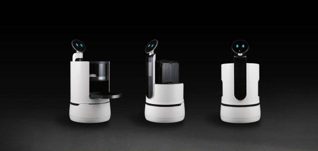 LG Robot CLOi LG ha lanciato 3 nuovi robot CLOi specificamente sviluppati per l'uso commerciale in hotel, aeroporti e supermercati: il Robot-Cameriere, il Robot-Facchino e il Robot Carrello della Spesa, fanno seguito al Robot-Guida Aeroporto e al Robot addetto Pulizie Aeroporto, attualmente in fase di collaudo finale presso l'aeroporto sudcoreano Incheon International Airport. La famiglia CLOi include inoltre il Robot Tosaerba e il Robot Hub, che di recente ha preso parte a un esperimento presso una delle principali istituzioni finanziarie della Corea del Sud, offrendo informazioni e assistenza ai clienti nelle filiali della banca. Il Robot-Cameriere è stato progettato per portare pasti e bevande agli ospiti e ai clienti negli hotel e nelle sale d'attesa degli aeroporti in modo rapido ed efficiente. Progettato per consegnare i bagagli nelle camere dei clienti, il Robot-Facchino riduce al minimo gli inconvenienti legati a un servizio lento e ai lunghi tempi di attesa durante un soggiorno in albergo. Il Robot-Facchino può anche gestire rapidamente il servizio di check-in e check-out e le operazioni di pagamento. Con l'aiuto del Robot Carrello della Spesa, i clienti possono scansionare gli articoli acquistati e vedere la propria shopping list sul display. I prodotti CLOi sono progettati per garantire un'esperienza innovativa e un'interazione nuova ai clienti grazie all'uso dell'Intelligenza Artificiale. www.lg.com