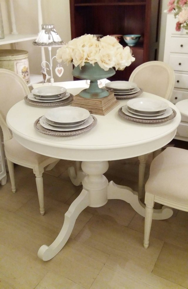 Gelsomini Casa-tavolo tondo allungabile
