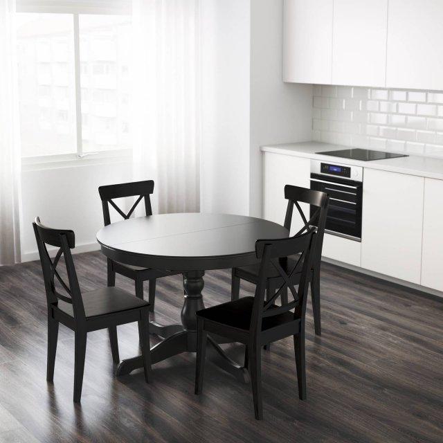 Ikea-ingatorp-tavolo tondo