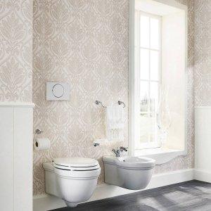 Della Collezione Magnifica di Scavolini Bathrooms, progetto esclusivo di arredo per bagno, i sanitari sospesi Dea hanno eleganti forme arrotondate che reinterpretano il classico attualizzandolo. www.scavolini.com