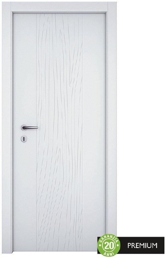 La porta Wood si distingue per la raffinatezza. Di qualità Premium, è la scelta giusta per ambienti di prestigio. In finitura laccata, misura L 80 x H 210 cm, costa 599,90 €