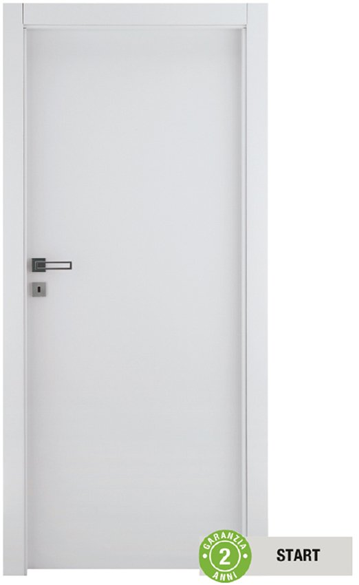 Ideale per una casa in affitto o ambienti secondari, la porta Cream è di qualità Start. Con anta in microteck, misura L 80 x H 210 cm, costa 99,90 €