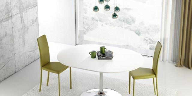 Tavolo rotondo allungabile: contemporaneo, classico, in stile