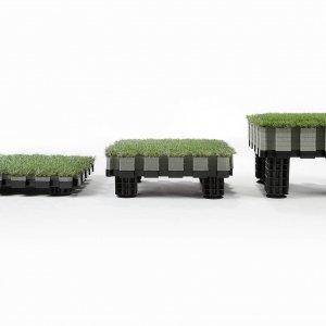 Roofingreen: moduli Leaf, Nature e Nature Led.