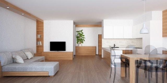 Zona giorno open space: come ricavarla e come dividere visivamente cucina e soggiorno?