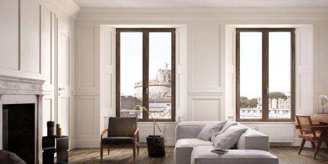 Nuove finestre per un maggiore isolamento e per la massima luminosità