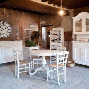 Tavoli Da Cucina Allungabili Classici.Tavolo Rotondo Allungabile Contemporaneo Classico In Stile