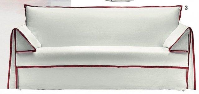 Il divano letto Vega di Noctis (www.noctis.it) ha il rivestimento in tessuto sfoderabile e lavabile; misura L 197 (materasso 160 cm) x P 101 x H 92 cm. Prezzo a partire da 1.410 euro.
