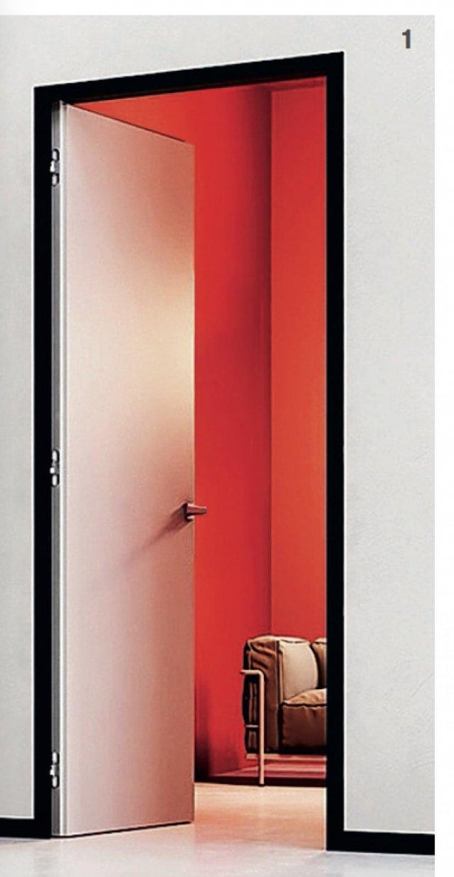 Shodö di Eclisse è un sistema integrato caratterizzato da un segno grafico che definisce stipiti di porte scorrevoli o a battente, coprifili, cornici e battiscopa, tutti a filo muro. Disponibile per muratura e cartongesso. Prezzo su preventivo. (www.eclisse.it)