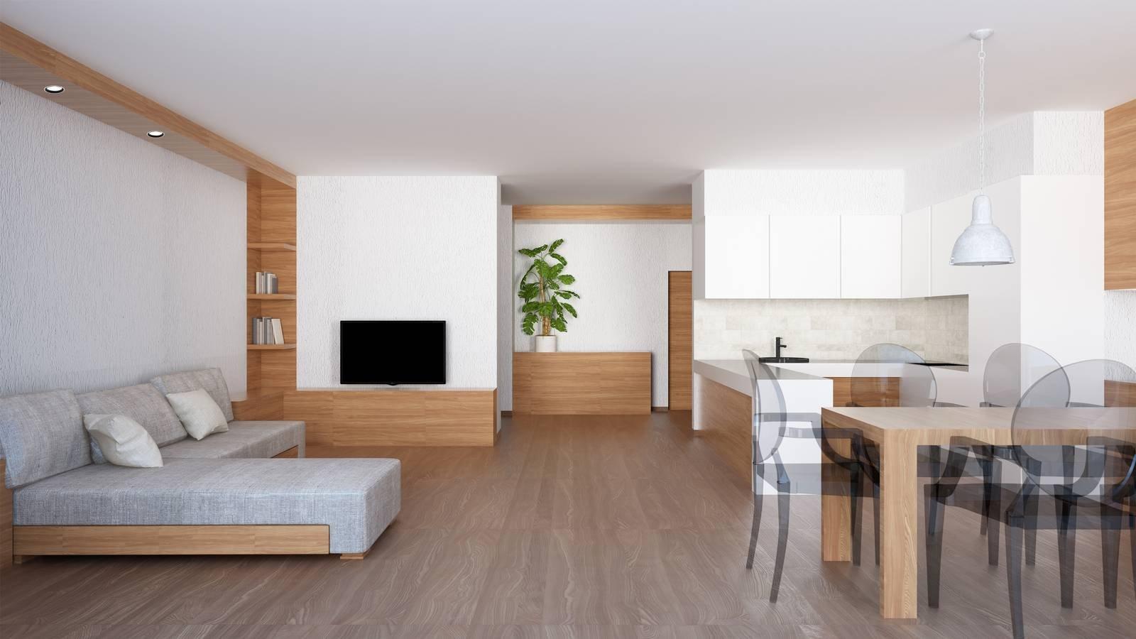Zona giorno open space come ricavarla e come dividere for Lo space senza pareti
