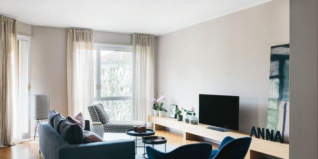 Idee decor da copiare: una casa di 153 mq ristrutturata e resa più contemporanea