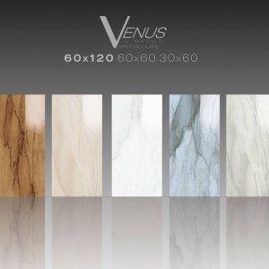 Ceramiche Brennero  Fondi Venus lappati Visone, Sand, White, Blu, Grey