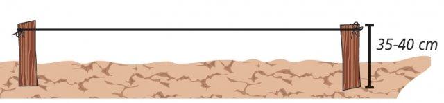 1. Scegliere per la coltivazione un'aiuola ai margini dell'orto, anche dove il sole non è persistente perché il topinambur tollera bene anche la mezz'ombra purché il substrato sia sufficientemente umido. L'aiuola va delimitata in modo preciso, creando con assi di legno o metallo delle sponde che vadano in profondità nel terreno per  20-25 cm e che siano in grado di arginarne la diffusione.