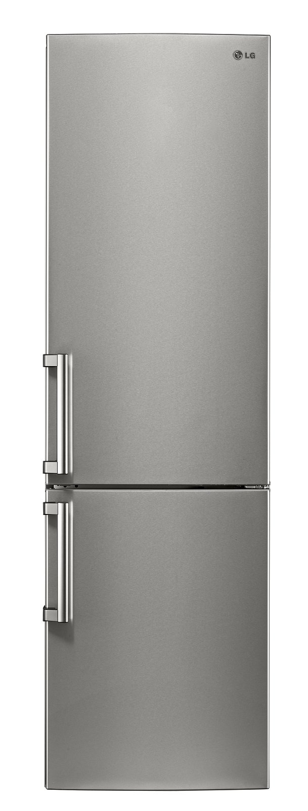 Il frigorifero combinato Centum System™ Classe GBB60NSZHE di LG è Total No Frost e certificato 20 anni. Produce una rumorosità di 36 dB(A). Ha una capacità netta totale di 343 l ed è in classe di efficienza energetica A +++ - 30%. Grazie al sistema NatureFRESH conserva diversi tipi di alimenti con temperature e umidità differenziate. Misura L 59,5 x P 68,6 x H 201 cm. Prezzo 1.999 euro. www.lg.com/it