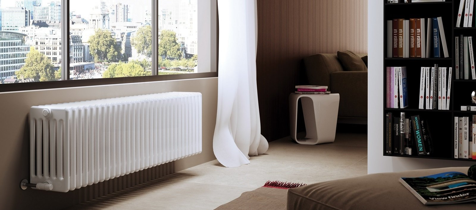 Verniciare Caloriferi In Ghisa i nuovi modelli sostituiscono i vecchi radiatori sottofinestra