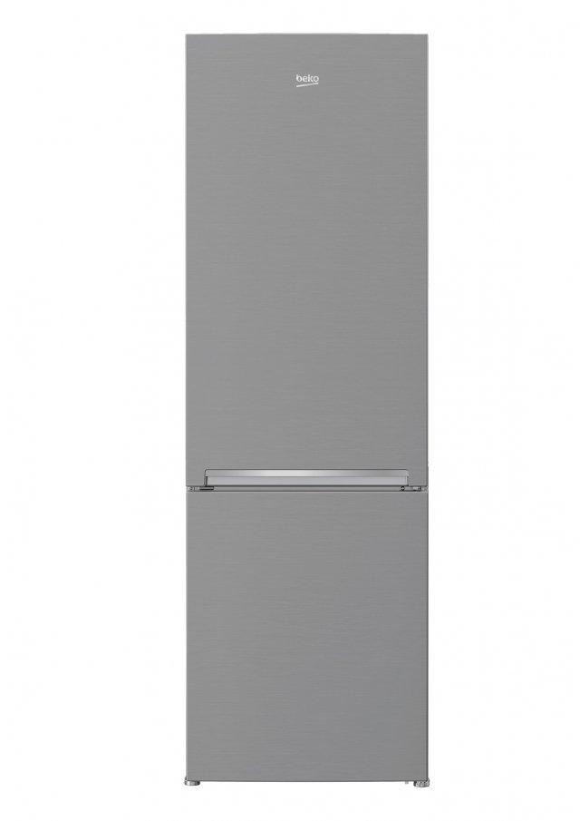 Il frigorifero-congelatore RCNA400K30XP di Beko in classe di efficienza energetica A++ sviluppa una rumorosità di 40 dB(A). Dotato di sistema Neo Frost, ha un vano congelatore con 3 cassetti. Misura L 60 x P 65 x H 201 cm. Prezzo 449 euro. Distr. da MercatoneUno www.mercatoneuno.com