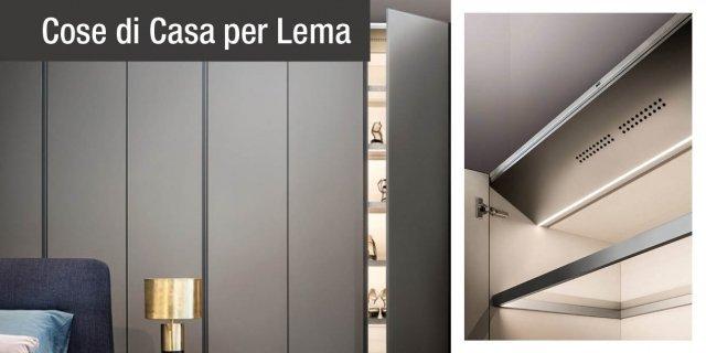 Lema Air Cleaning System, per sanificare in modo naturale tutto ciò che è nell'armadio