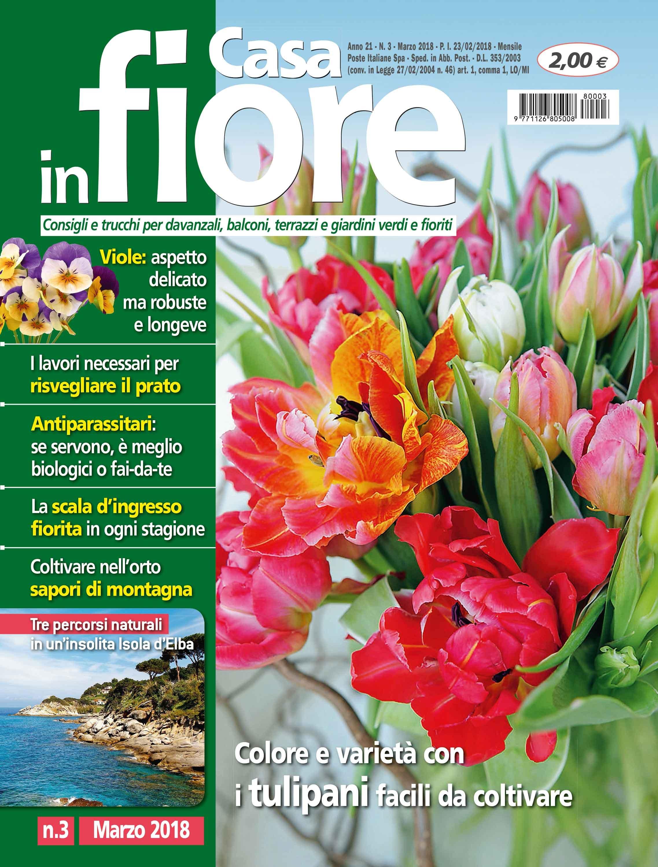 Fiori Da Giardino In Montagna in edicola dal 23 febbraio casa in fiore di marzo - cose di casa