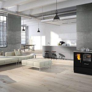 Cucina a legna KE 90 P di EdilKamin (www.edilkamin.it)