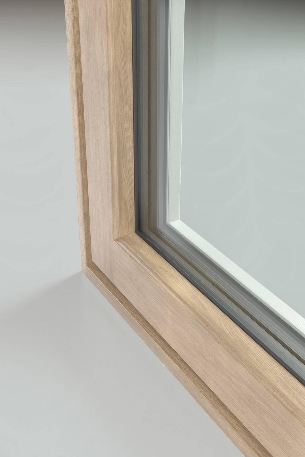 Le nuove finestre in alluminio legno e pvc legno cose di casa - Finestre in alluminio color legno ...
