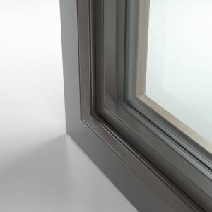 FIN-Ligna anta Slim-line alluminio-legno