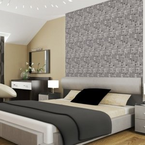 Carta da parati dietro al letto: 16 soluzioni scenografiche - Cose ...
