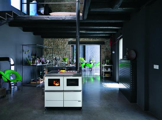 Le migliori cucine a legna a progetto fuoco cose di casa - Cucine a legna palazzetti ...