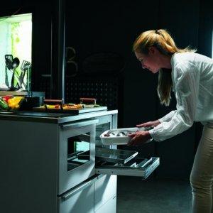 Cucina a pellet Idro di Palazzetti