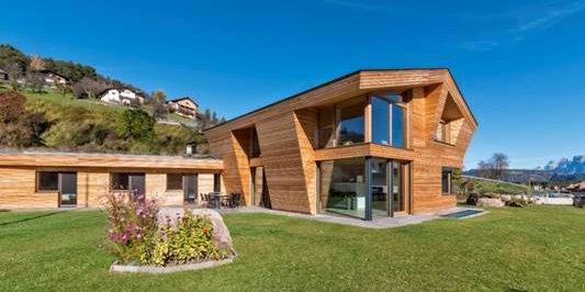 La casa in legno che rispetta l'ambiente