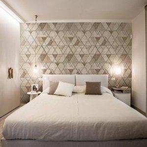 Carta da parati dietro al letto: 16 soluzioni scenografiche ...