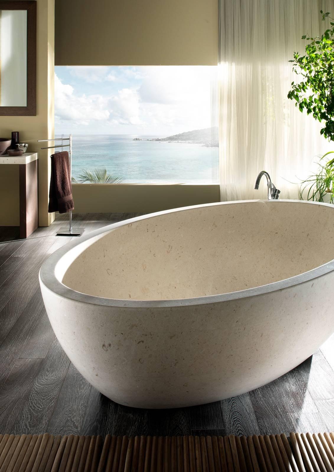 Il bagno in marmo esclusivo e raffinato cose di casa - Bagni in marmo moderni ...