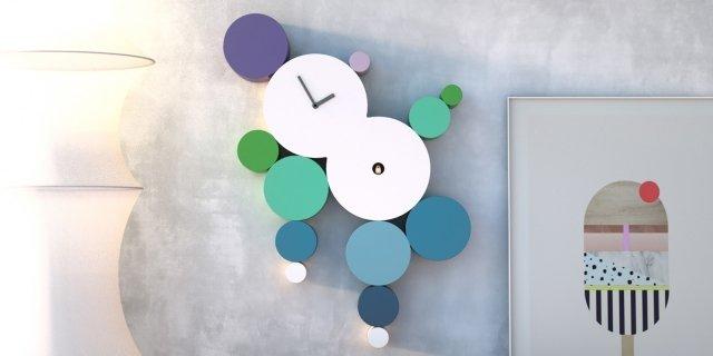 Orologi da parete: coloratissimi o minimali arredano l'ambiente