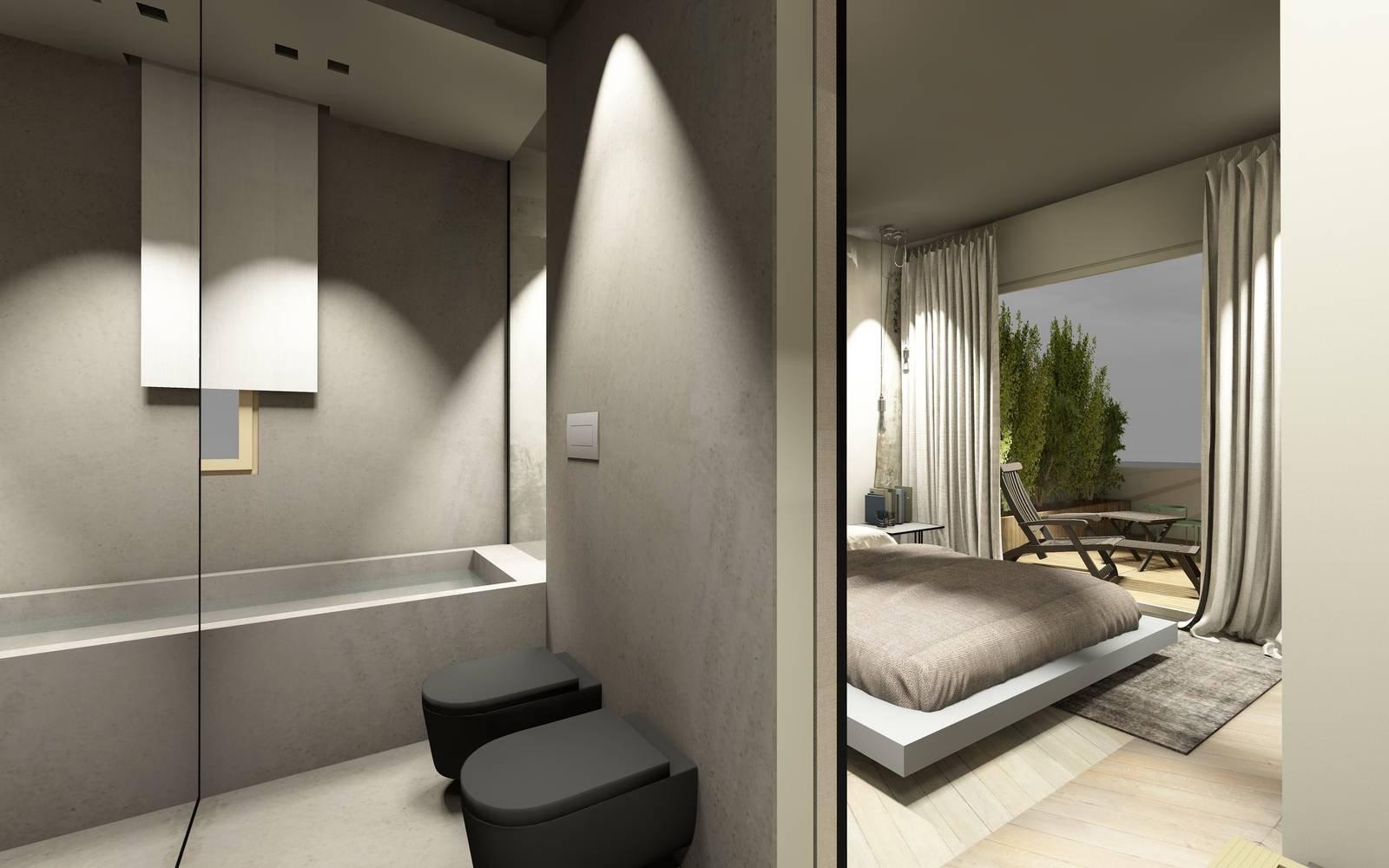 Vasca Da Bagno Nella Camera Da Letto : Bagno in camera soluzioni d effetto cose di casa