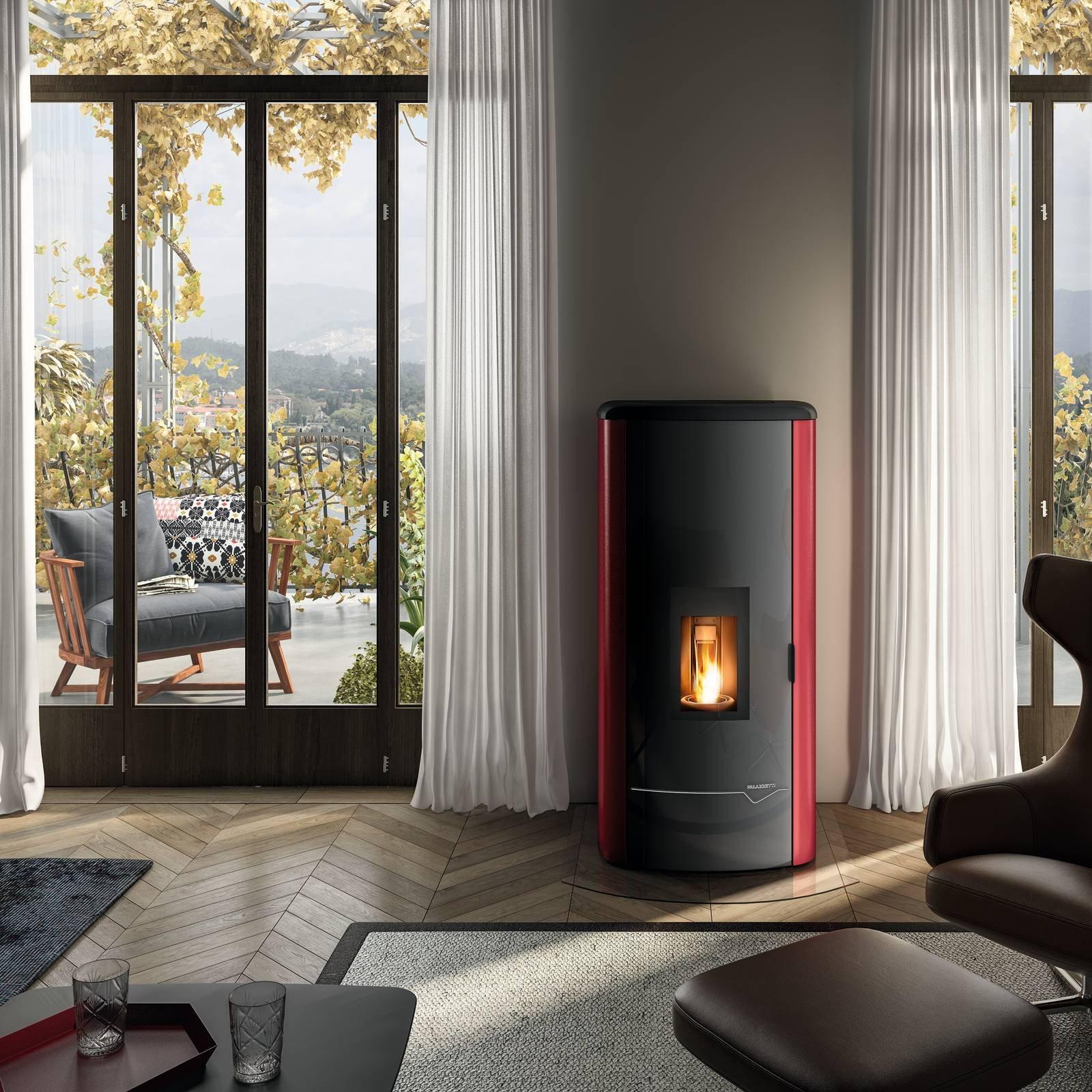 Stufe hi tech e ad alta efficienza energetica cose di casa for Stufe a pellet moderne palazzetti