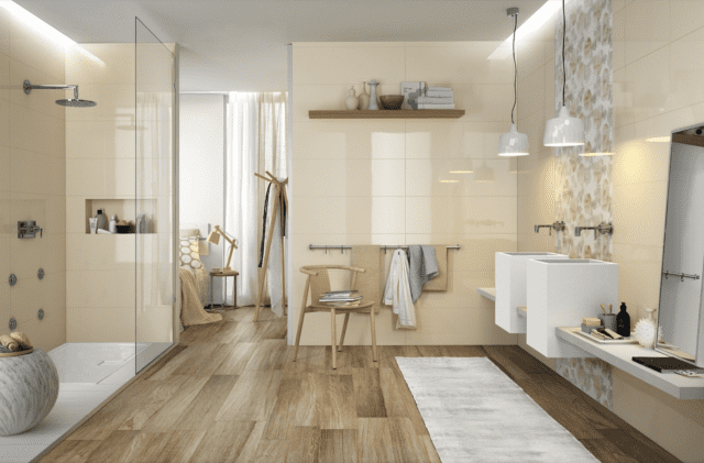 Come scegliere le finiture del bagno e abbinarle bene basta un click cose di casa - Le piastrelle del pavimento di un locale ...