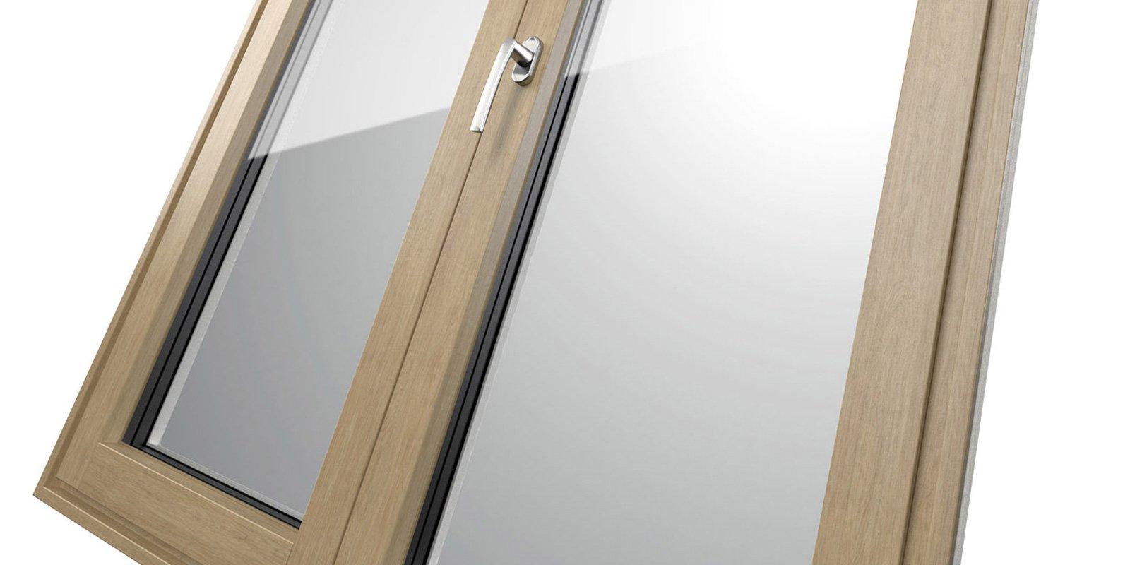Le nuove finestre in alluminio legno e pvc legno cose di casa - Finestre in alluminio e legno ...
