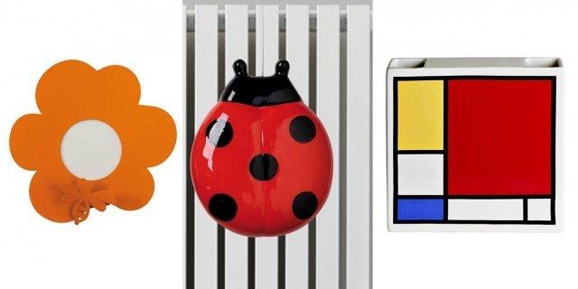 L'umidificatore con un tocco di design cambia volto al calorifero