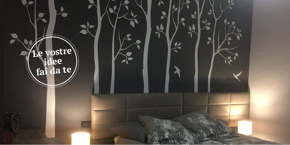 Decorare la parete in modo facile con gli sticker cose for Arte fai da te casa